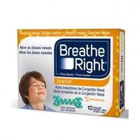 BREATHE RIGHT TIRA NASAL RESPIRA MEJOR NIÑOS 10 U