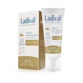 LADIVAL FOTOPROTECTOR FPS 30 ALTA EMULSION ANTIMANCHAS 50 ML