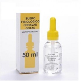 ORRAVAN SUERO FISIOLOGICO GOTAS 50 ML