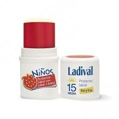 LADIVAL PROTECTOR LABIAL NIÑOS FPS 15 MEDIA STICK 4 ML