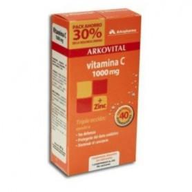 ARKOVITAL VITAMINA C+ZINC 2 X 20 C EFERV