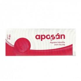 ALGODON ZIG-ZAG PURO APOSAN 50 G
