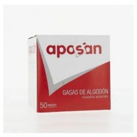 GASA ESTERIL ALGODON HIDROFILO COMPRESAS APOSAN SOBRE 5 U 50 U