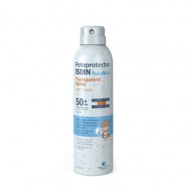 FOTOPROTECTOR ISDIN SPF-50+ PEDIATRIC TRANSPAR WET SKIN 200 ML