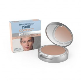 FOTOPROTECTOR ISDIN SPF 50+ MAQUILLAJE COMPACTO OIL-FREE COLOR ARENA 10 G