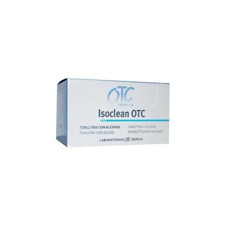 ISOCLEAN OTC TOALLITAS ALCOHOL ISOPROPILICO AL 70% 50 TOALLITAS