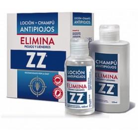 ZZ LOCION + CHAMPU ANTIPIOJOS 100 ML +125 ML