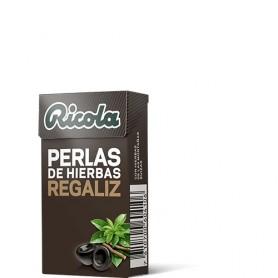 RICOLA PERLAS SIN AZUCAR REGALIZ 25 G