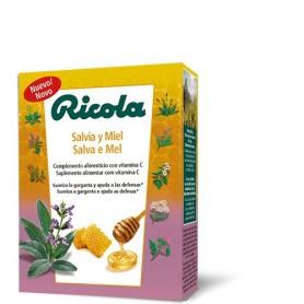 RICOLA PASTILLAS SALVIA MIEL 50 G