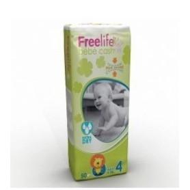 FREELIFE BEBECASH PAÑAL INFANTIL T- 4 50 U