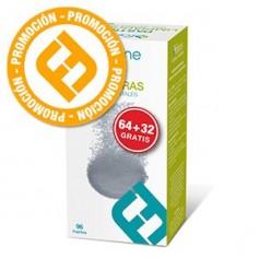 Farline Pastillas Limpiadoras Limpieza Protesis Dental 96 U