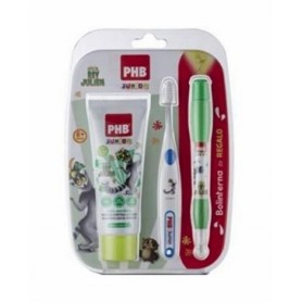 PACK PHB JUNIOR PHB PLUS JUNIOR CEPILLO + PASTA MENTA +REGALO