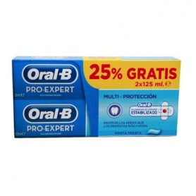PACK ORAL-B PRO EXPERT MULTI PROTECCION PASTA DENTAL 125 ML 2 U