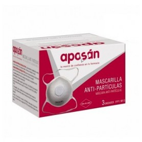 MASCARILLA PART FFP1 APOSAN 3U