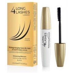 LONG 4 LASHES MASCARA DE PESTAÑAS NEGRA REFORZADORA 10ML