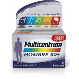 MULTICENTRUM HOMBRE 50+ 30 COMP