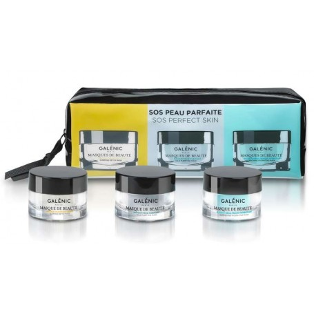 GALENIC PACK 3 MASQUES DE BEAUTE MASCARILLAS 3 X 15 ML