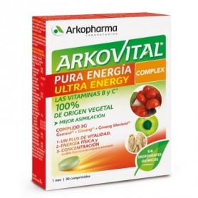 ARKOVITAL PURA ENE ULTRA 30CO