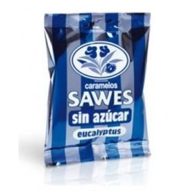 SAWES CARAMELOS BOLSA SIN AZUCAR EUCALIPTUS FORT 50 G