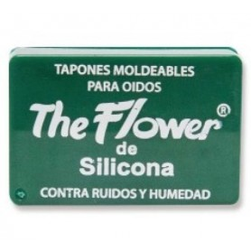 TAPONES OIDOS SILICONA THE FLOWER MOLDEABLES