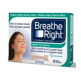 BREATHE RIGHT TIRA NASAL BALSAMICA T- GDE 8 U
